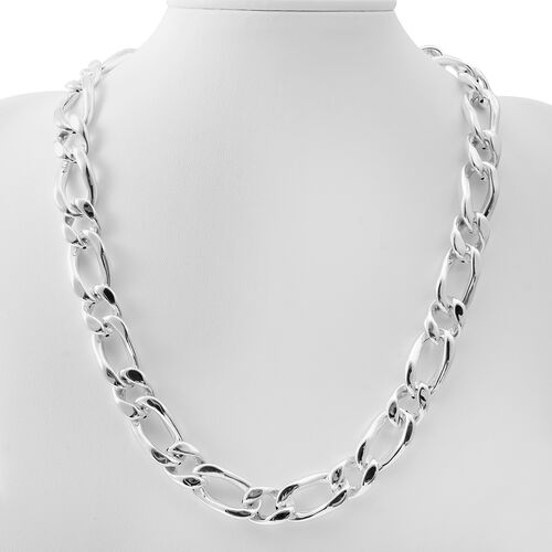 Sterling Silver Necklace (Size 20), Silver wt 58.60 Gms.