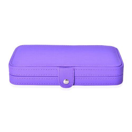 Set of 18 - Manicure Kit in Purple Box (Size 20X11X4 Cm)
