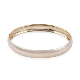 Royal Bali Collection 9K Yellow Gold Bangle (Size 7.5), Gold wt 5.71 Gms