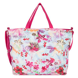 Bulaggi Collection - Bliss Shopping Bag with Adjustable Shoulder Strap - Pink