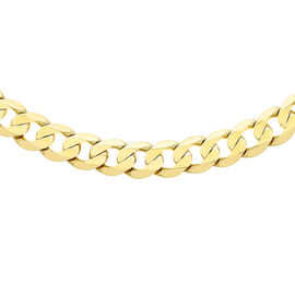 9K Yellow Gold Curb Chain (Size - 18),  Gold Wt. 16.3 Gms