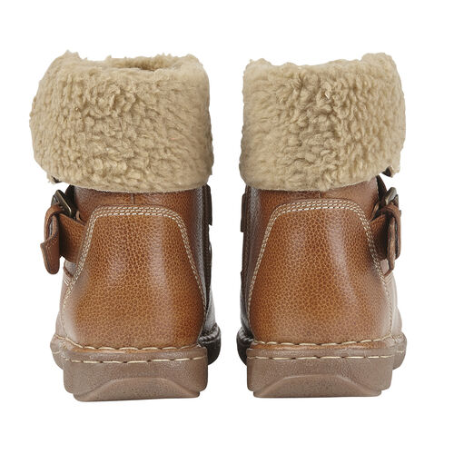 Lotus Tan Leather Ali Ankle Boots