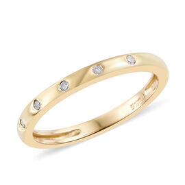 Diamond Rings - Silver, Yellow & White Gold Rings in UK | TJC