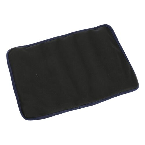 Shungite Foot Mat with Cover (Size 127x10cm) weight - 1.01 lbs - Black