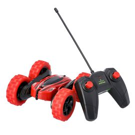 360 Rotating Stunt Toy Car with Controller - Red