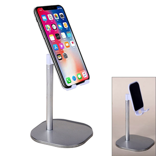 Mobile Phone Stand Holder - Silver and White