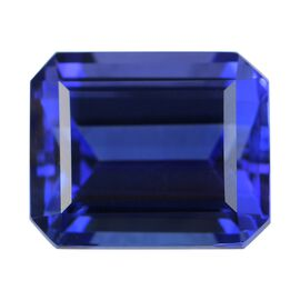 AAAA Tanzanite Octagon Cut Faceted 8.500 cts.