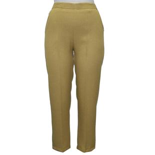 Emma Half Elasticated Comfortable Summer Trousers - Camel