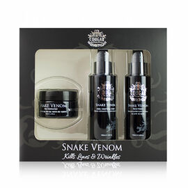 CB&CO: Snake Venom Trio Set (Incl. Face Mask - 100ml, Day Cream - 50ml & Cleansing Cream - 100ml)