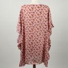 Leopard Printed Kaftan in Pink (Size 70x75cm)
