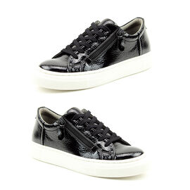 Heavenly Feet Tiffany Slip-on Trainer Shoes - Black