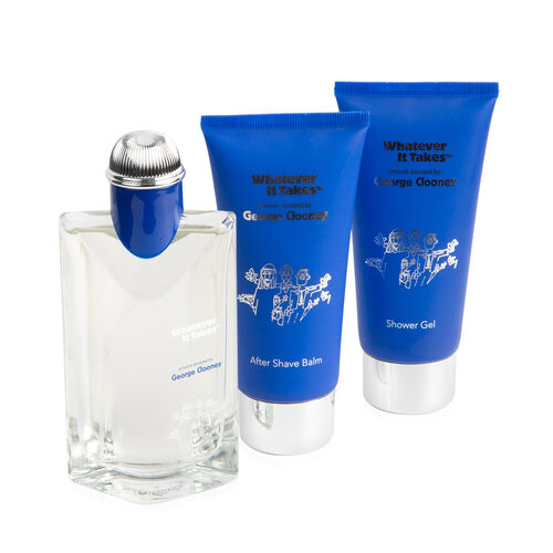 George Clooney Set: Incl (Eau De Toilette, After Shave Balm &  Shower Gel - 100ml each)