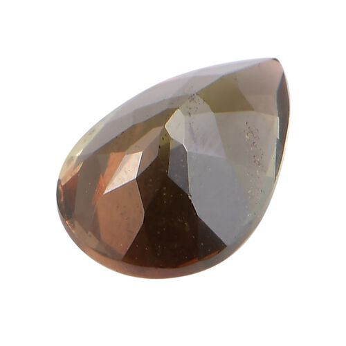 AA Andalusite Pear 8.8x9 Faceted 1.18 Cts