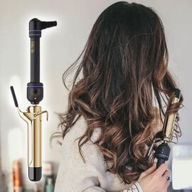 Hot Tools: 24K Gold Salon Curling Iron - 32mm Extra Long
