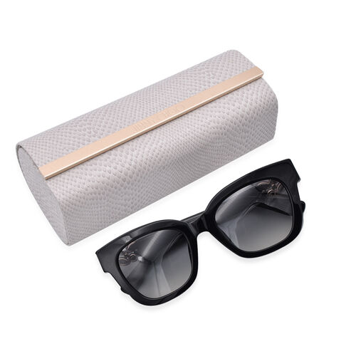 JIMMY  CHOO Black Sunglasses with Gradient Black Lenses