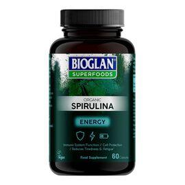 Bioglan Superfoods: Organic Spirulina Capsules - 60