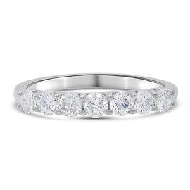ILIANA 18K White Gold SGL Certified Diamond (SI/ G-H) Ring 1.000 Ct.