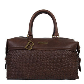 Bulaggi Collection- Bryon Bun Handbag (Size 31x18x13 Cm) - Dark Brown