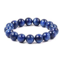 Himalayan Kyanite (Rnd) Beads Bracelet (Size 7) 440.010 Ct