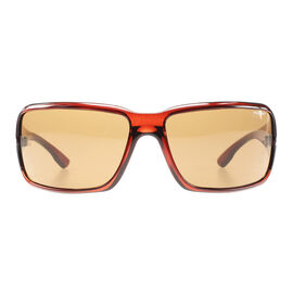 POLICE Chili Red Frame Brown Lens Sunglasses