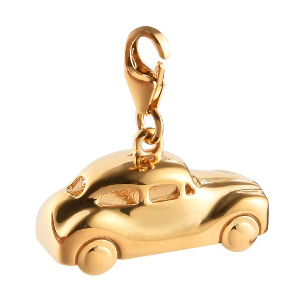 Charms De Memoire - 14K Gold Overlay Sterling Silver Car Charm