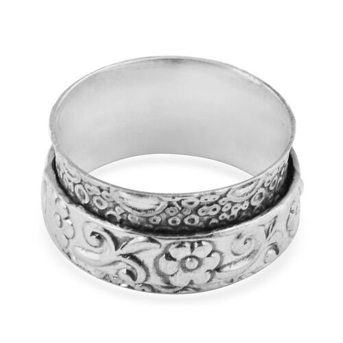 Artisan Crafted Sterling Silver Ring, Silver wt 3.91 Gms