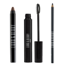 Lord & Berry: Cool Eye Set - Line & Shade Eyeliner - Smoke, Reglam Crayon Eyeshadow - Stunning & Boo