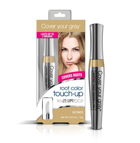 (Option-4) CYG: Waterproof Root Touch-Up - Blonde/Lt. Brown