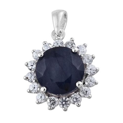 Premium Collection - Designer Inspired Rare Size Masoala Sapphire (Rnd 5.75 Ct), Natural White Cambo