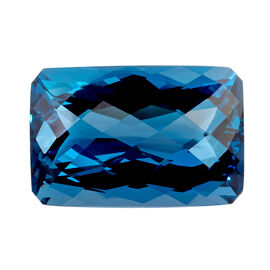 London Blue Topaz Octagon 39x26 Faceted 3A 180.270 Cts