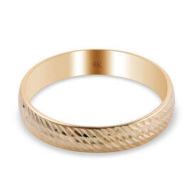 9K Yellow Gold  Ring,  Gold Wt. 1.41 Gms