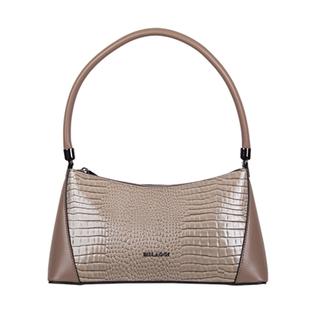 Bulaggi Collection - Hortense Baguette Handbag (Size 31x16x8cm) - Taupe