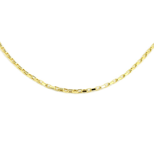 Box Belcher Necklace in 9K Yellow Gold 20 Inch