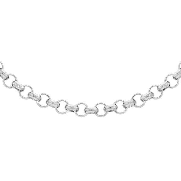 Sterling Silver Belcher Chain (Size 18), Silver wt 5.60 Gms