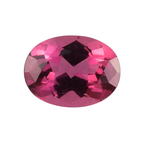 AAAA Rubellite Oval 8.5x6.5 Faceted 1.52 Cts