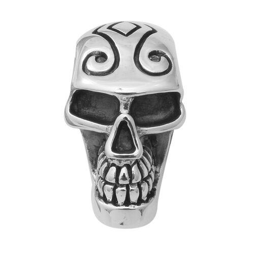 Skull Pendant in Thai Sterling Silver