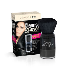 (Option-4) CYG: Cleanse & Cover Hair Freshener - Black