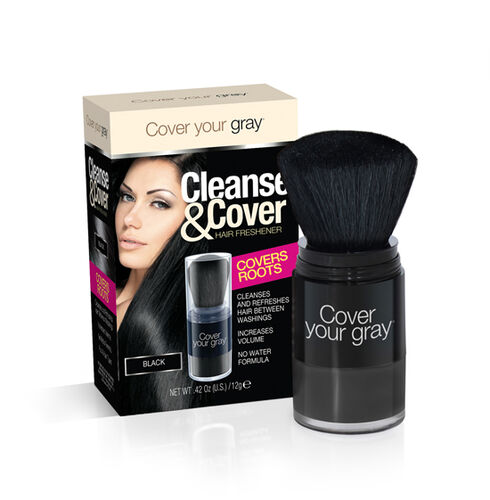(Option-4) CYG: Cleanse & Cover Hair Freshener - Black