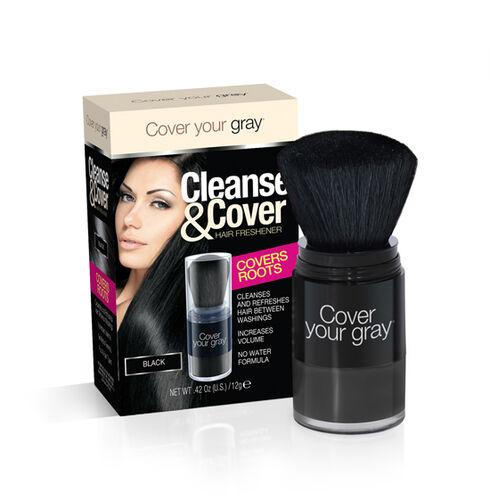 (Option 2) CYG: Cleanse & Cover Hair Freshener - Black