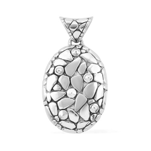 Bali Legacy Collection Sterling Silver Pendant, Silver wt 7.81 Gms.