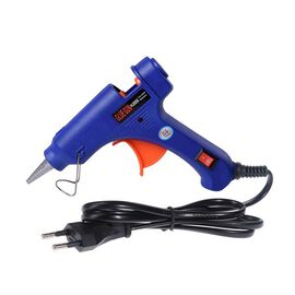 20 Watt Hot Melt Glue Gun Kit with 30pcs Glue Sticks for School DIY Art & Craft Projects and Home Qu