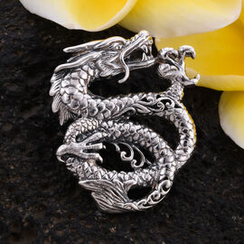 Royal Bali Collection - Sterling Silver Dragon Pendant