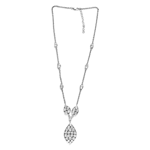 Limited Edition- GP Italian Garden Collection Polki Diamond and Blue Sapphire Necklace (Size 18 with