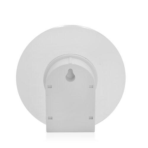 (Option 2) Home Decor- White 3D Acrylic Motion Sensor Night Light (Voltage-4.5v, Watt -2W)