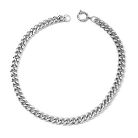 Designer Inspired- Stainless Steel Curb Chain Necklace (Size 20)