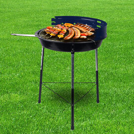 Portable Multipurpose Barbeque Grill (Size 43x33cm) - Blue
