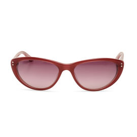 Guess By Marciano - Vintage Style Cat Eye Sunglasses in Dark Pink
