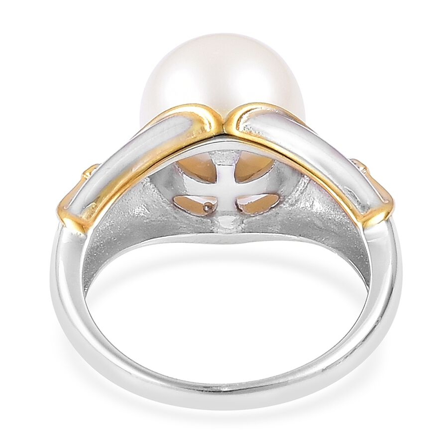 White Pearl Mm Rings Uk