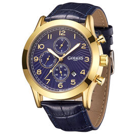 Limited Edition - GAMAGES OF LONDON Hand Assembled Infantry Automatic Gold - 45mm - Water Resistant
