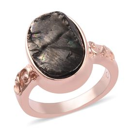 2 Carat Elite Shungite Magnetic Solitaire Ring in Rose Gold Tone